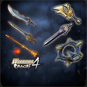 WARRIORS OROCHI 4 LEGENDARY WEAPONS PACK