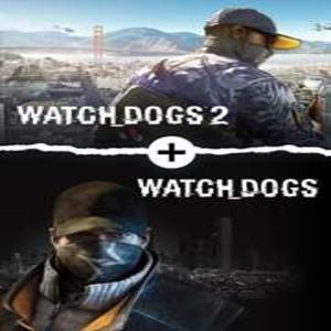 Watch Dogs 1 Plus Watch Dogs 2 Standard Editions Bundle
