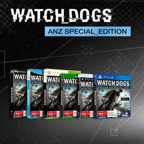 Buy Watch Dogs The ANZ Special Edition CD Key Compare Prices