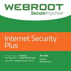 Webroot SecureAnywhere Internet Security Plus 2021