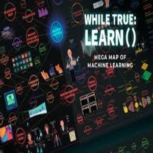 while True learn Mega Map of Machine Learning