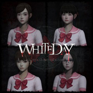 White Day Fashionable School Uniform Set
