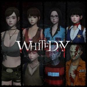 White Day Horror Costume Set