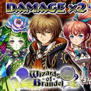 Wizards of Brandel Damage x2