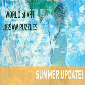 World of Art learn with Jigsaw Puzzles