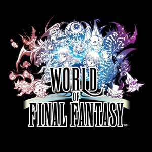 Buy World of Final Fantasy PS4 Game Code Compare Prices