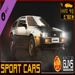 World of Guns VR Sport Cars Pack