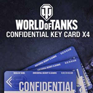 World of Tanks Confidential Key Cards