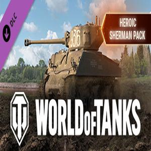 World of Tanks Heroic Sherman Pack