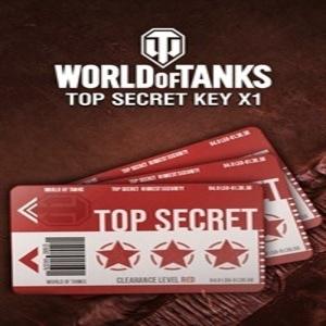 World of Tanks Top Secret Key Card