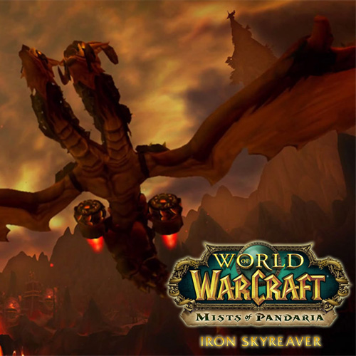 Buy World Of Warcraft Iron Skyreaver Mount CD Key Compare Prices