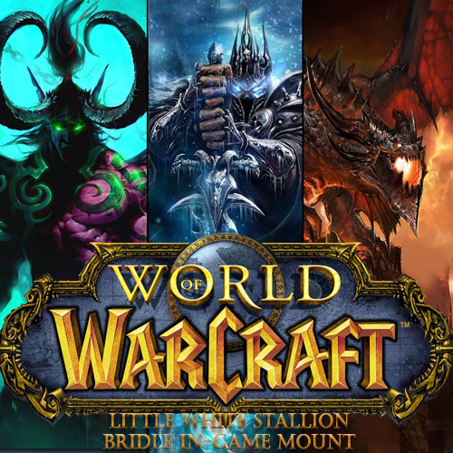Buy World of Warcraft Little White Stallion Bridle In-game Mount CD Key Compare Prices