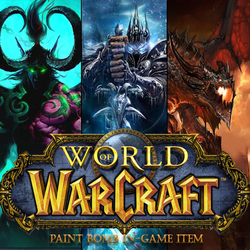 Buy World of Warcraft Paint Bomb In-game Item CD Key Compare Prices
