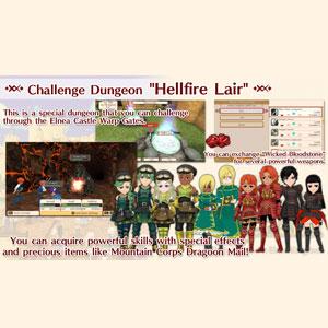 WorldNeverland Elnea Kingdom Challenge Dungeon Hellfire Lair
