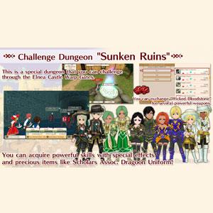 WorldNeverland Elnea Kingdom Challenge Dungeon Sunken Ruins