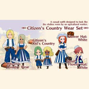 WorldNeverland Elnea Kingdom Citizen's Country Wear Set