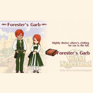 WorldNeverland Elnea Kingdom Forester's Garb