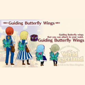 WorldNeverland Elnea Kingdom Guiding Butterfly Wings