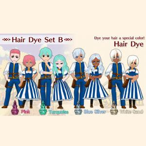 WorldNeverland Elnea Kingdom Hair Dye Set B