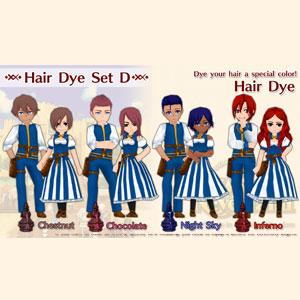 WorldNeverland Elnea Kingdom Hair Dye Set D