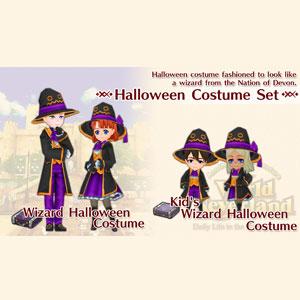WorldNeverland Elnea Kingdom Halloween Costume Set