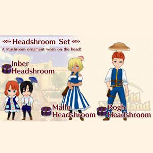 WorldNeverland Elnea Kingdom Headshroom Set