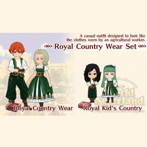 WorldNeverland Elnea Kingdom Royal Country Wear Set