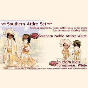 WorldNeverland Elnea Kingdom Southern Attire Set