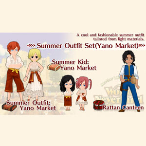 WorldNeverland Elnea Kingdom Summer Outfit Set Yano Market