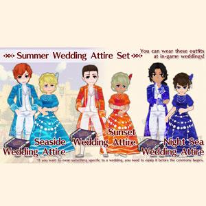 WorldNeverland Elnea Kingdom Summer Wedding Attire Set