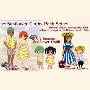 Buy WorldNeverland Elnea Kingdom Sunflower Cloths Pack Set Nintendo Switch Compare Prices