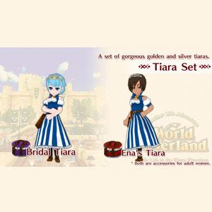 WorldNeverland Elnea Kingdom Tiara Set