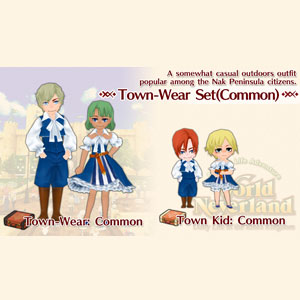 WorldNeverland Elnea Kingdom Town-Wear Set Common