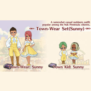 WorldNeverland Elnea Kingdom Town-Wear Set Sunny