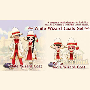 Buy WorldNeverland Elnea Kingdom White Wizard Coats Set Nintendo Switch Compare Prices