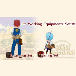 Buy WorldNeverland Elnea Kingdom Working Equipments Set Nintendo Switch Compare Prices