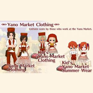 WorldNeverland Elnea Kingdom Yano Market Clothing Set