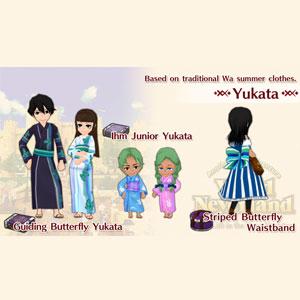 WorldNeverland Elnea Kingdom Yukata