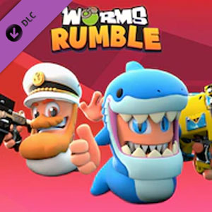 Worms Rumble Captain and Shark Double Pack