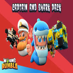 Worms Rumble Captain & Shark Double Pack