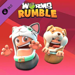 Worms Rumble Cats and Dogs Double Pack