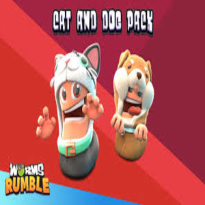 Worms Rumble Cats & Dogs Double Pack