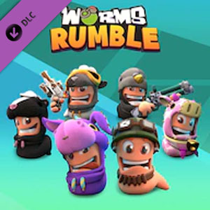 Worms Rumble Legends Pack