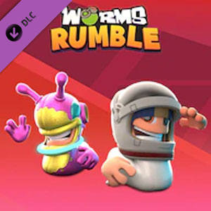 Worms Rumble Spaceworm and Alien Double