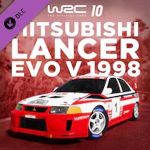 WRC 10 Mitsubishi Lancer Evo V 1998