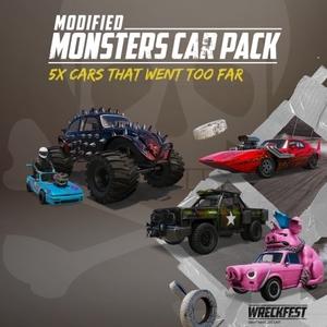 Wreckfest Modified Monsters Car Pack