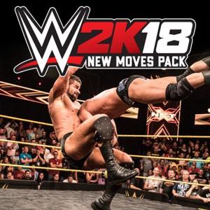 WWE 2K18 New Moves Pack