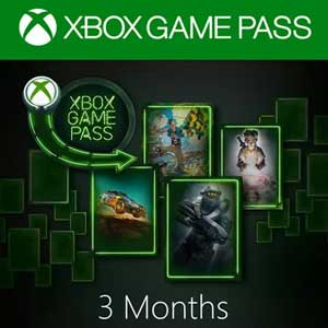 Buy Xbox Game Pass 3 Months Xbox One Compare Prices