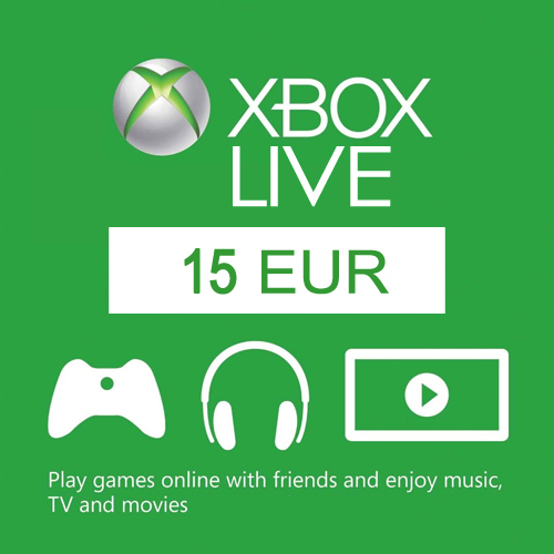Buy 15 Euro Card EU Xbox Live Code Compare Prices