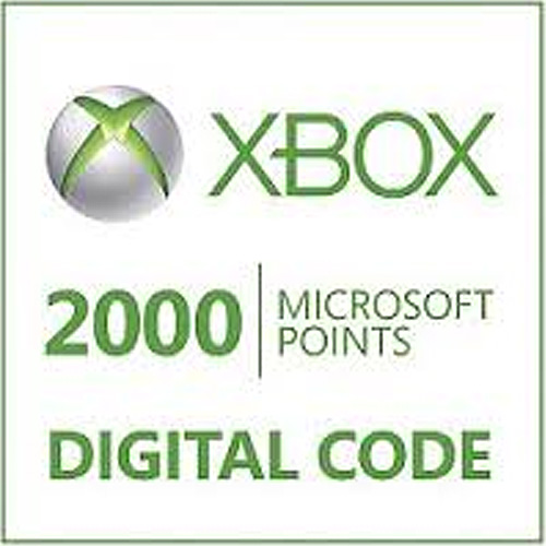 Buy 2000 Microsoft Points Xbox Live Code Compare Prices